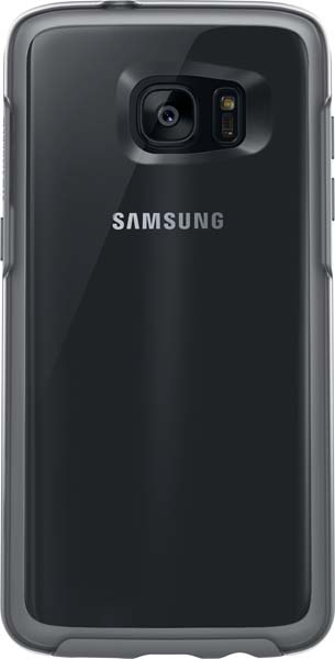 Symmetry Series Clear Case for Galaxy S7 edge Gray - 77-53156