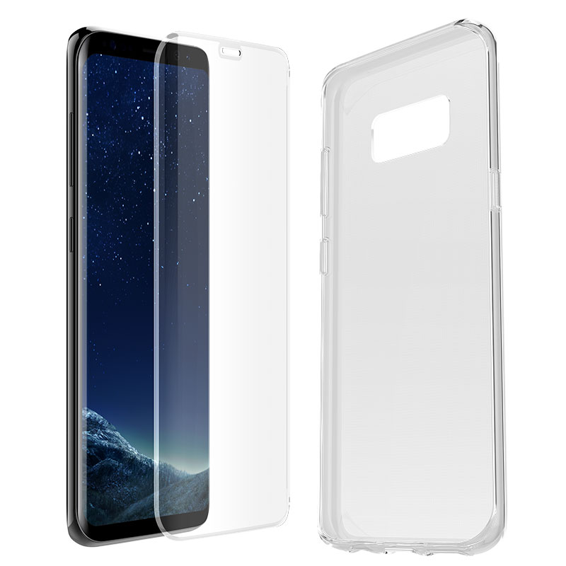 Otterbox Clearly Protected Skin with Alpha Glass for Galaxy S8 - 78-51251