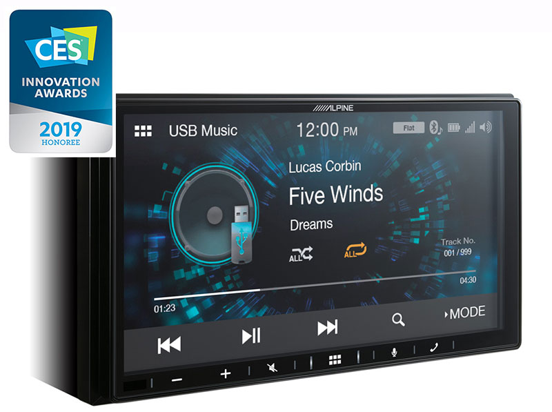 "Alpine ILX-W650BT 7"" Digital Media Station, with Apple CarPlay and Android Auto compatibility"