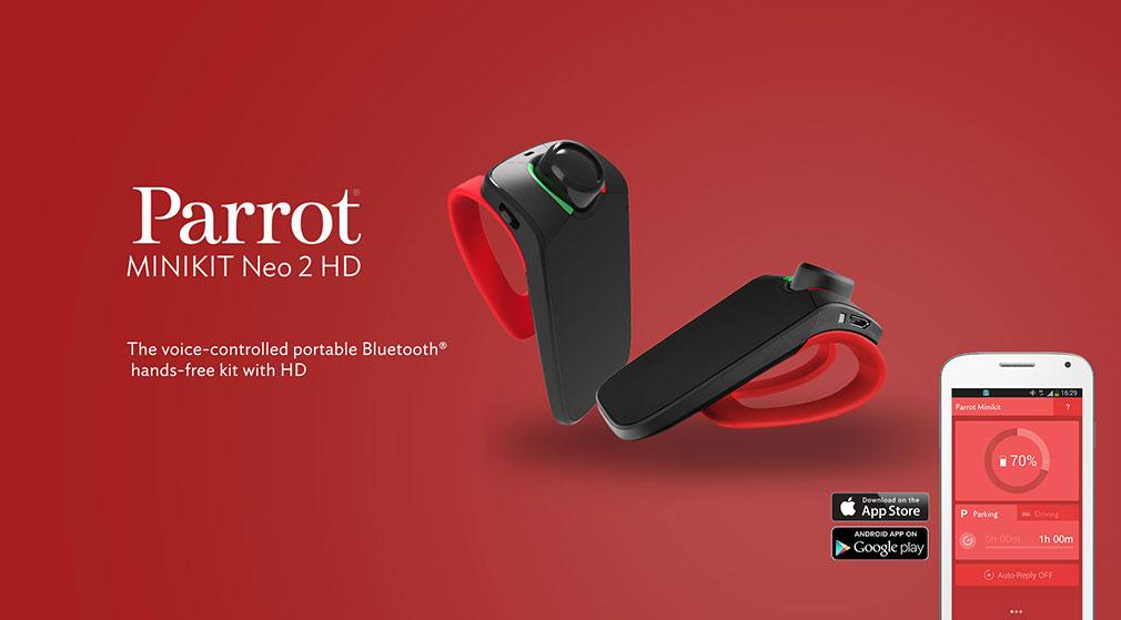 Parrot Minikit Neo 2 Hd Black Pf420101aa